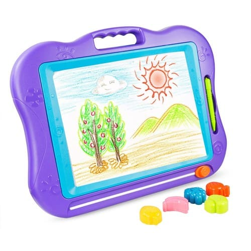 Kids Drawing Board, Magnetic, Colorful, Erasable, Skill Development $9.29-$11.77