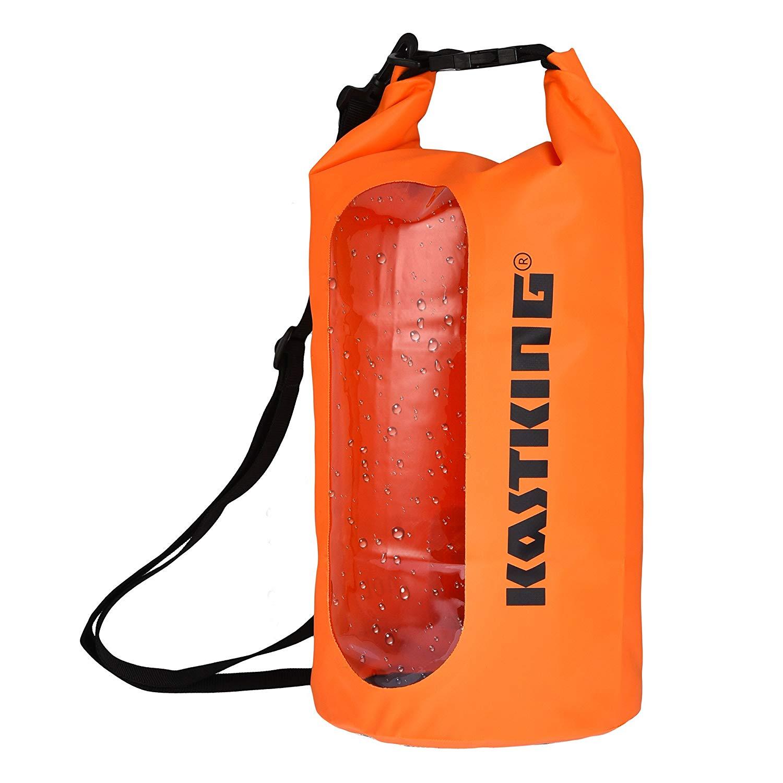 Dry Bag, Waterproof, Roll Top Sack for Outdoor Activities - $11.72 - $18.62