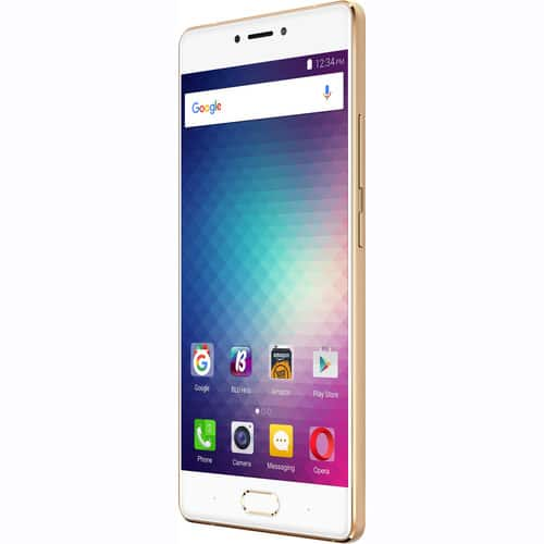 BLU Pure XR P0030UU 64GB Smartphone (Unlocked, Gold) - $180