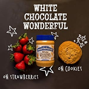 Peanut Butter & Co White Chocolate PB, 6 pack for 17.29 at Amazon Subscribe and Save w/15% discount $17.29