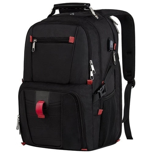 17-Inch Large Capacity Travel Laptop Backpack w/ USB Charging Port $38 + Free Shipping