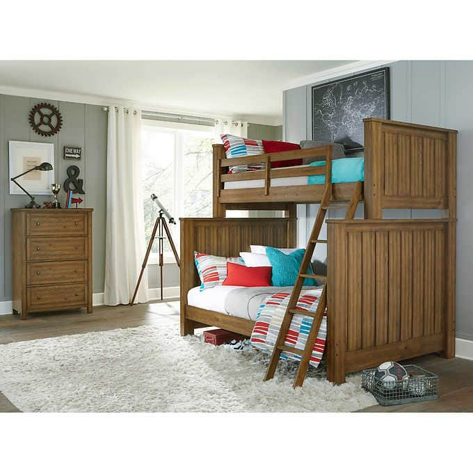 Costco 2-piece Twin-Over-Full Bunk Bed Set + Shipping is Free $499.97