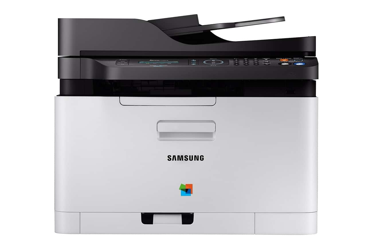 Samsung Xpress SL-C480FW Wireless Color Laser Printer $99.99