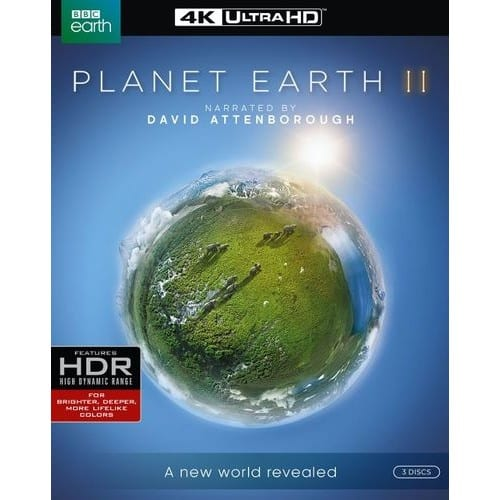 Planet Earth II 4K UHD HDR Blu-ray (3 Discs) $34.99 Free Shipping or In-Store Pickup