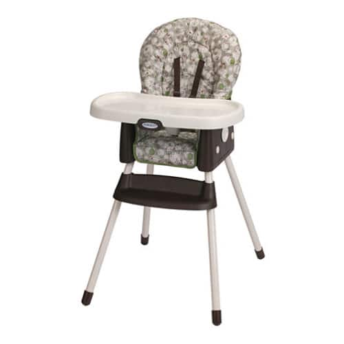 Amazon/Walmart - Graco SimpleSwitch High Chair &  Booster seat - Zuba    $42.74