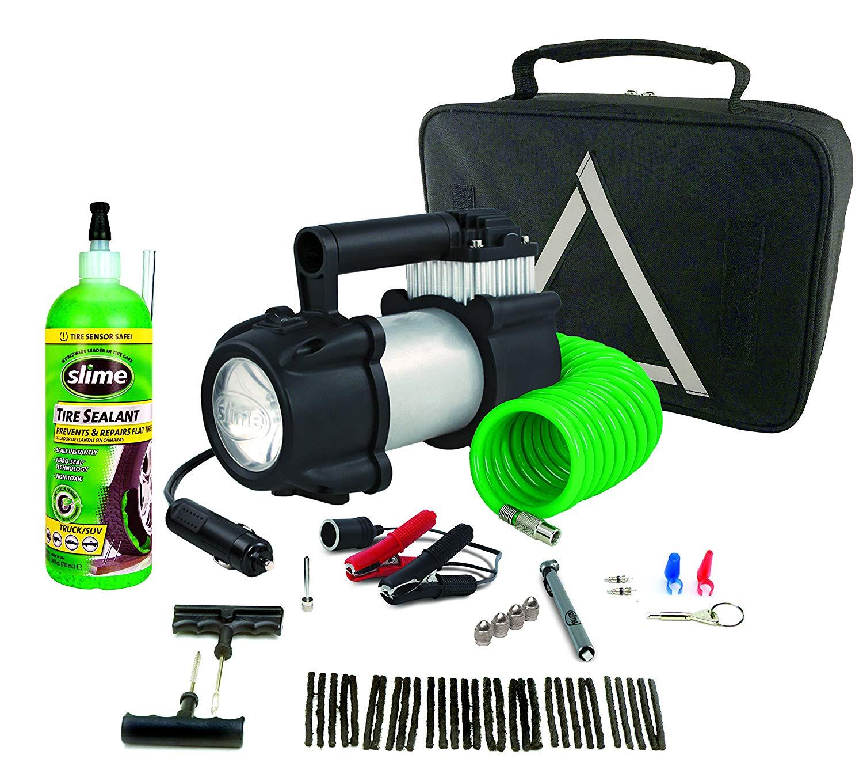 Slime 70004 Automotive 48-piece flat tire repair kit  $45.00  @Amazon