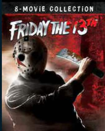 Friday the 13th 8 movie collection HDX $24.99 on Vudu