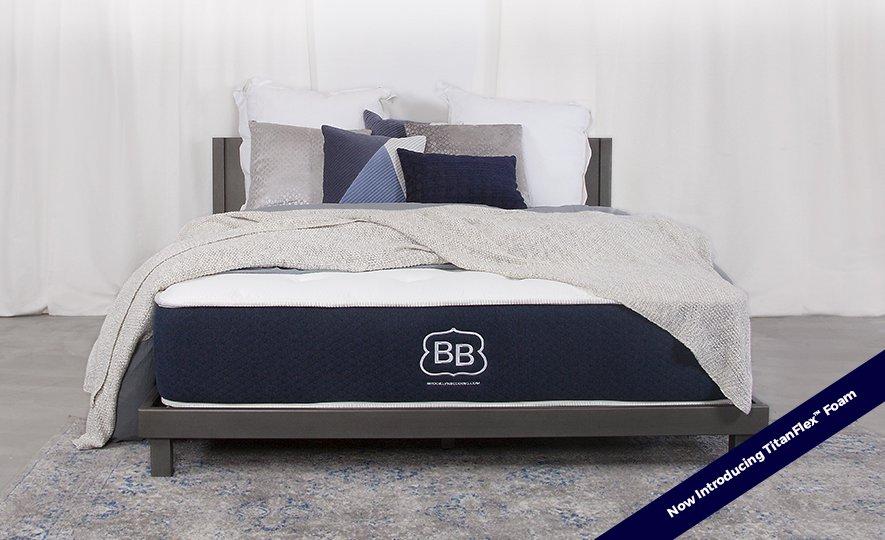 Brooklyn Bedding - Take $50 off on orders $499+ plus 2 free shredded foam pillows & 1 free microfiber sheet. QUEEN $700 w/ Free Shipping