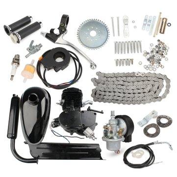 80cc 2-Stroke Cycle Motorized Bike Black Body Engine Motor Kit $89.99 at Banggood