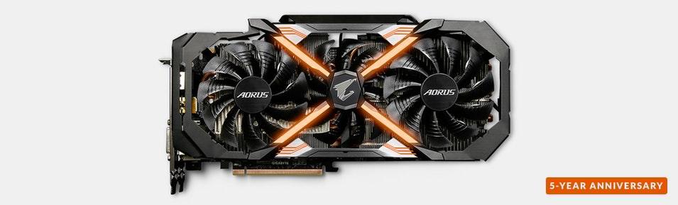 Gigabyte Aorus GeForce GTX 1080 Ti 11G - $649.99