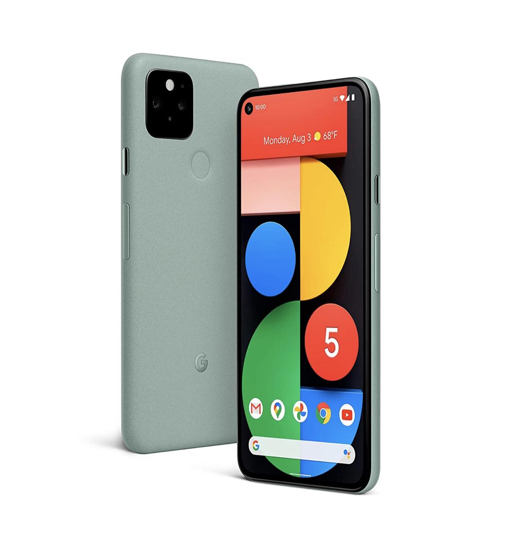 Google Pixel 5 (At&t Line Upgrade-YMMV) $299.99