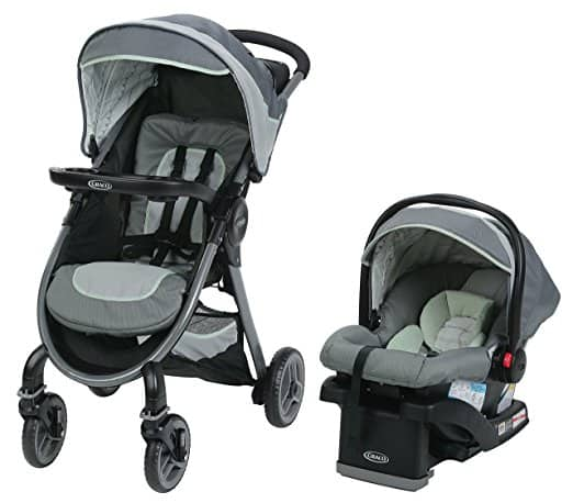 Graco FastAction 2.0 Travel System, Mason $166.39 + fs
