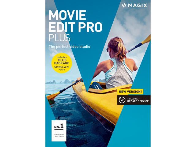 MAGIX Movie Edit Pro 2018 Plus W/ Promo Code: EMCBBCD227 $44.99