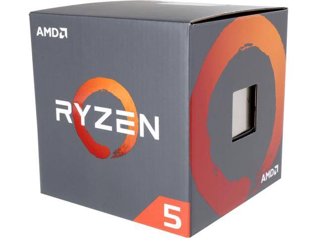 AMD RYZEN 5 1600 6-Core 3.2 GHz (3.6 GHz Turbo) Socket AM4 65W YD1600BBAEBOX Desktop Processor W/ Code:  EMCBBCE26