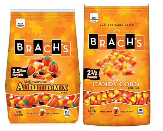 AMAZON Alexa deal! $6.99 for 80 ounce candy corn!! Brach's Candy Corn and Autumn Mix Duo, 2 Count