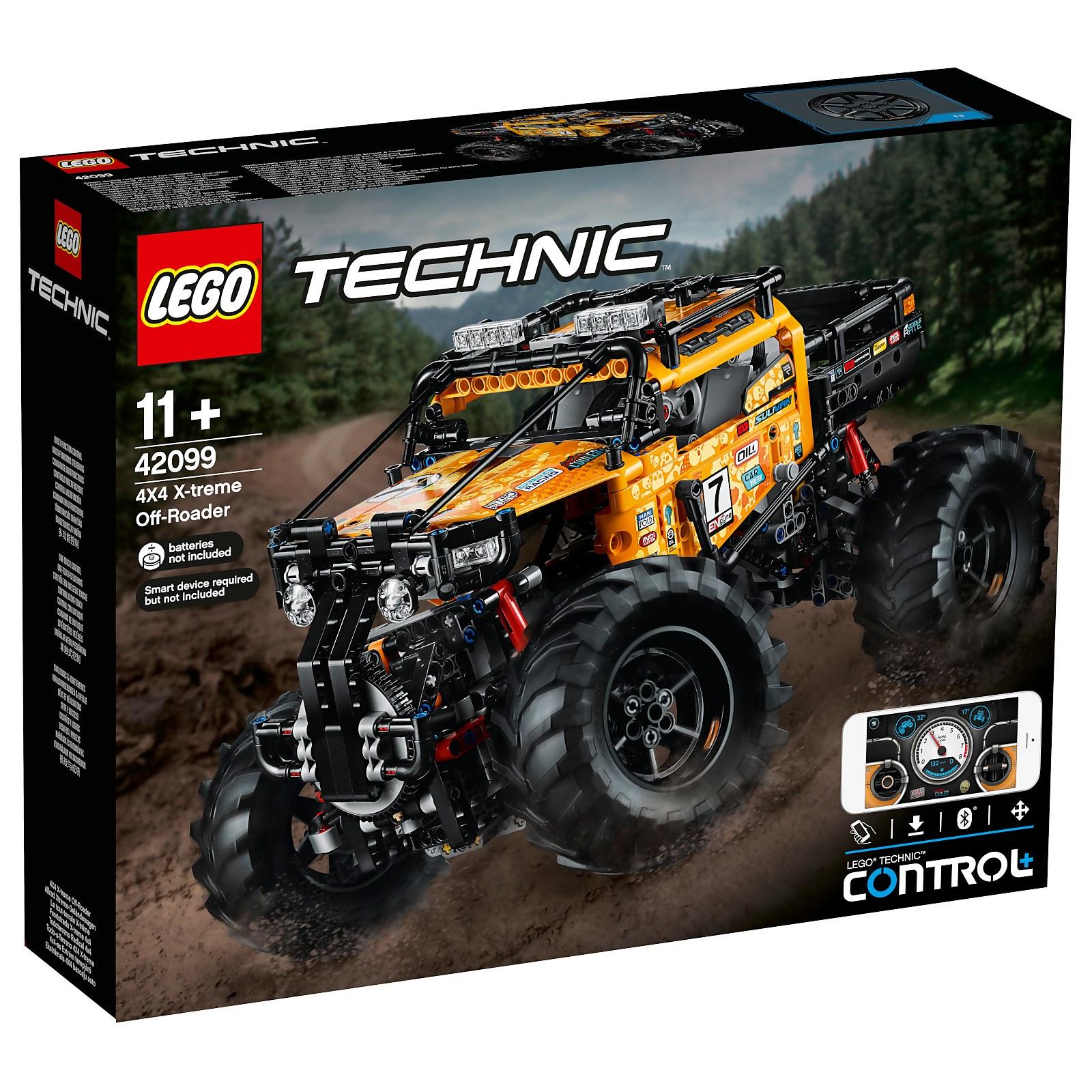 LEGO TECHNIC: 4X4 CRAWLER (42099) for $166.99 at Zavvi