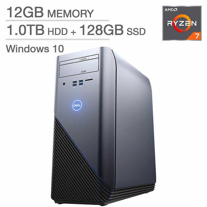 Costco ( in-store only) : Dell Inspiron 5675 - Ryzen 1700X + RX570 4GB + 12GB RAM $799 YMMV B&M
