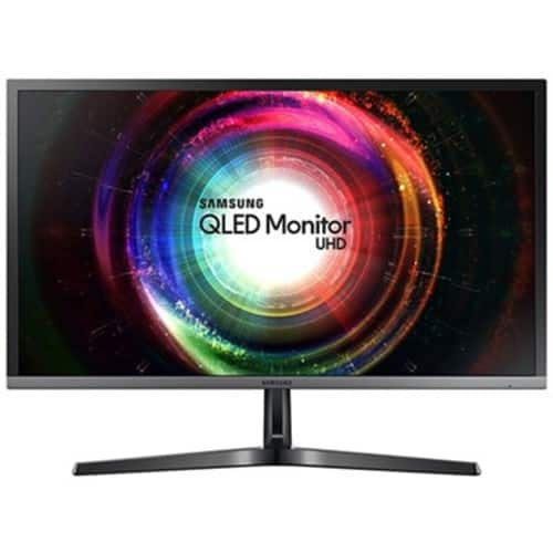 """Samsung 28"""" 16:9 UH750 QLED 4K Ultra HD Monitor - Take $117 Off with Coupon Code: BCD71071 $330"""