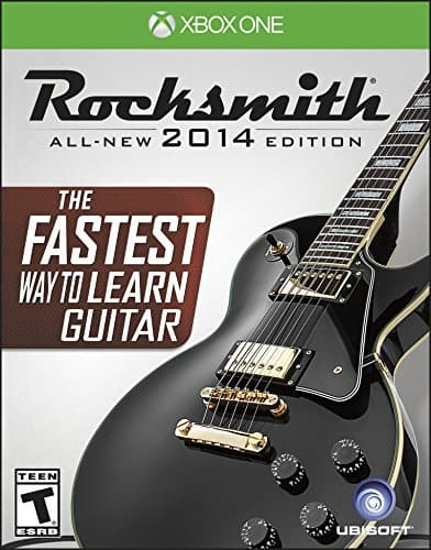 Beginner Electric Guitar + Rocksmith Remastered for PC & XBONE combo + cable = $121.72