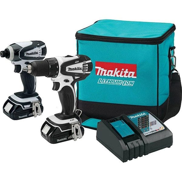 Home Depot In-Store (YMMV) Makita CT200RW 18V Compact Lithium-Ion Cordless Combo Kit (Drill, Impact Driver, 2x batteries, charger, bag) $85