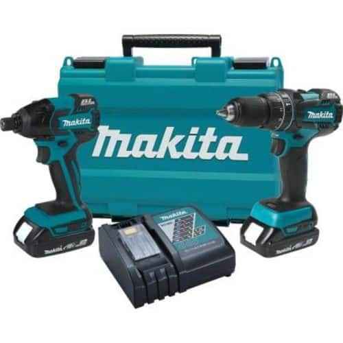 Home Depot YMMV/Inventory Not Listed: Makita 18V LXT Brushless Hammer Drill & Impact Driver Combo Kit (w/ 2 batteries and charger) $125