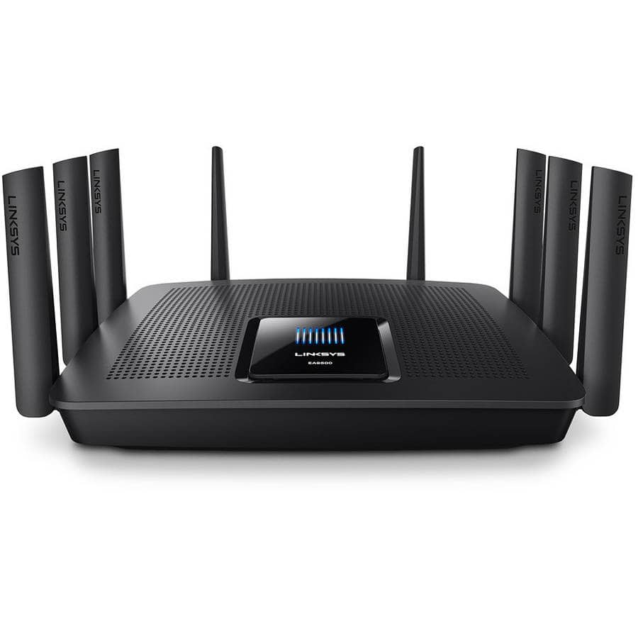 Linksys AC5400 EA9500 Refurbished Tri-Band MU-MIMO Router $190.97