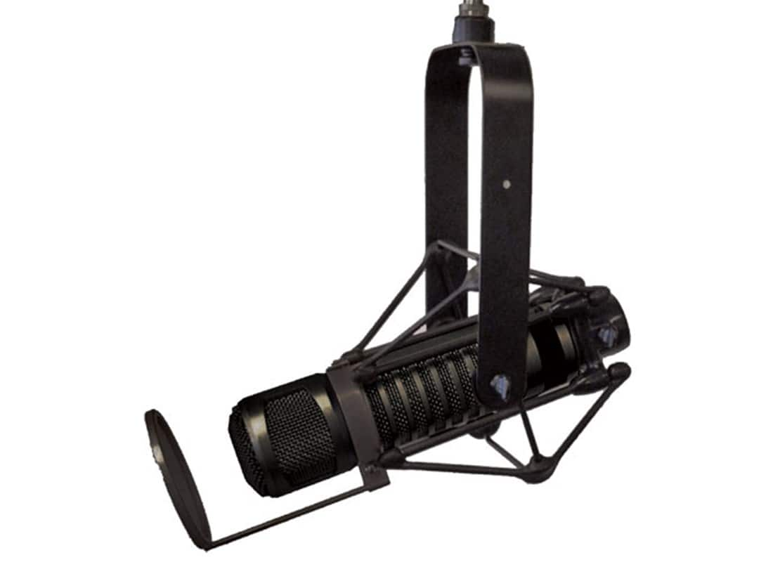 ElectroVoice RE320 Broadcast/Podcast Package w/ Shockmount, Yoke, Pop Filter, Cable - $299 FS