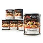 Woot:  Mountain House Freeze Dried Food 6-Packs #10 cans  $59.99–$169.99   + $5 SHIPPING LIMIT 3 MAX