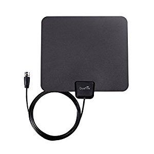 DuaFire Digital Ultra-Thin Indoor HDTV Antenna (25 Mile Range) $6.35 @Amazon