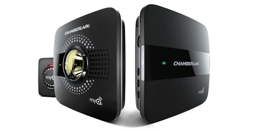 Chamberlain MyQ Smart Garage Hub and Home Bridge Bundle w/code - $99.98
