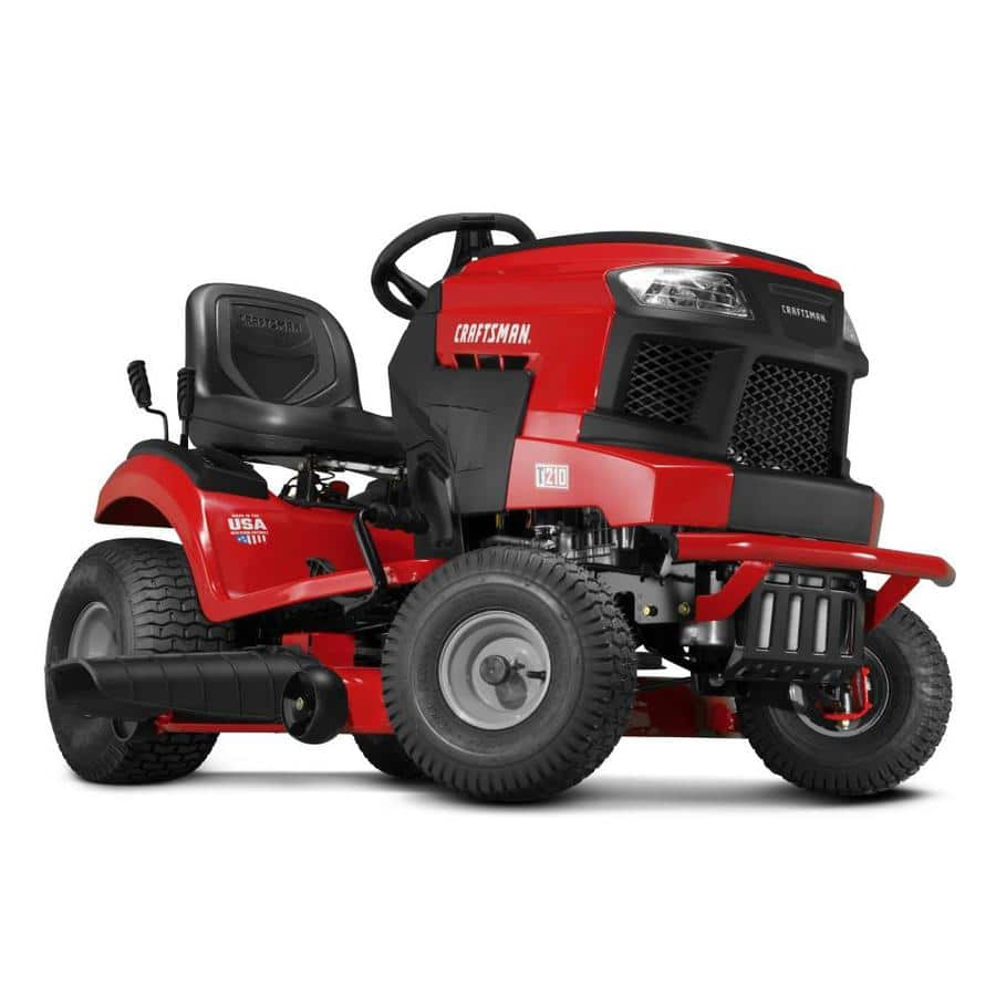 Craftsman T210 Turn Tight Hydrostatic Mower with 42 inch deck