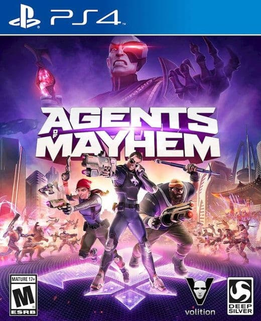 Agents of Mayhem (PS4) - $5.49