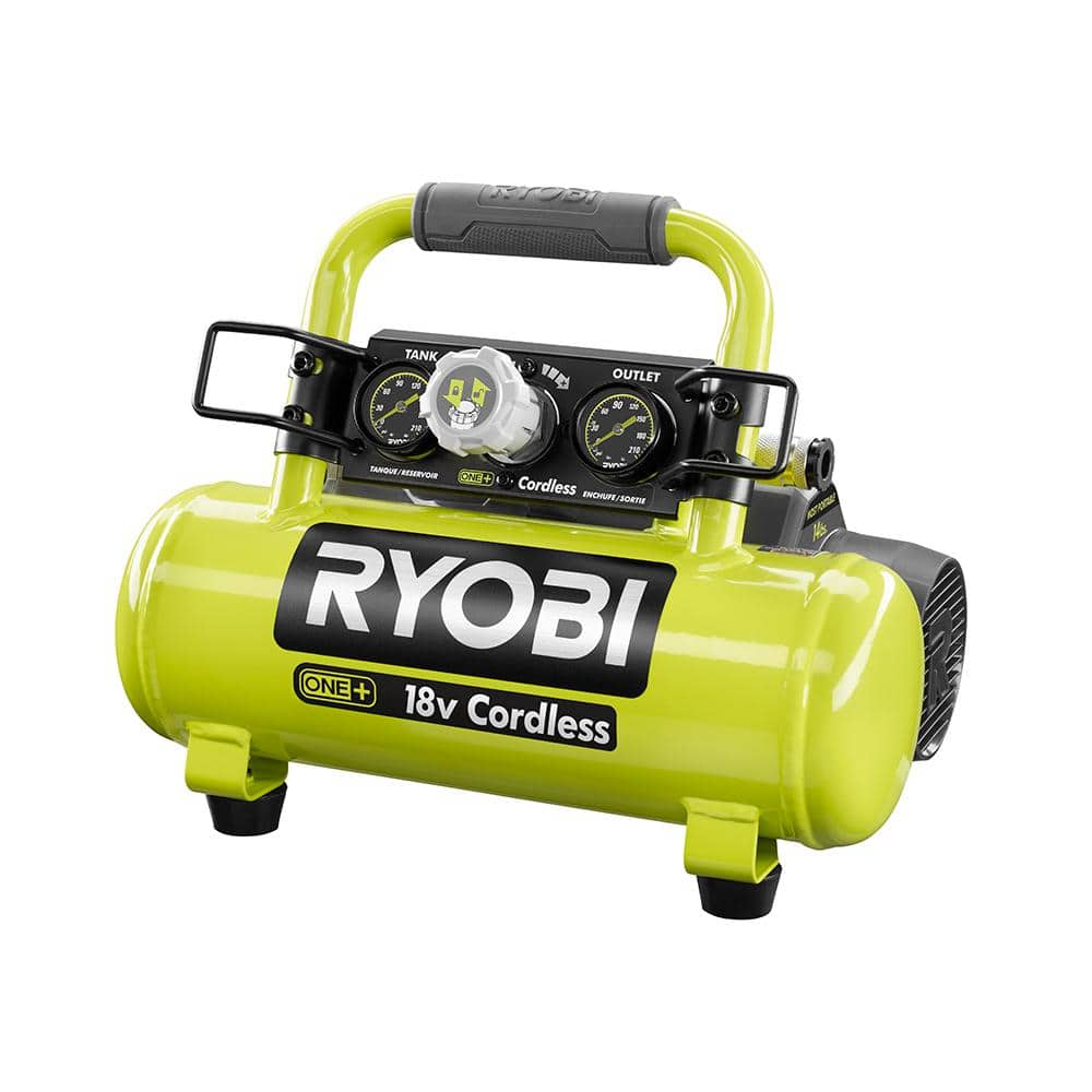 RYOBI ONE+ 18 Volt 1 Gallon Portable Air Compressor (CPO) - $70