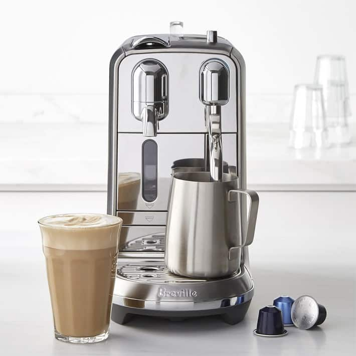 Nespresso Machine Plan - several machines including Creatista and Latissimo for $1 with 12 month $35-50 Nespresso credit purchase