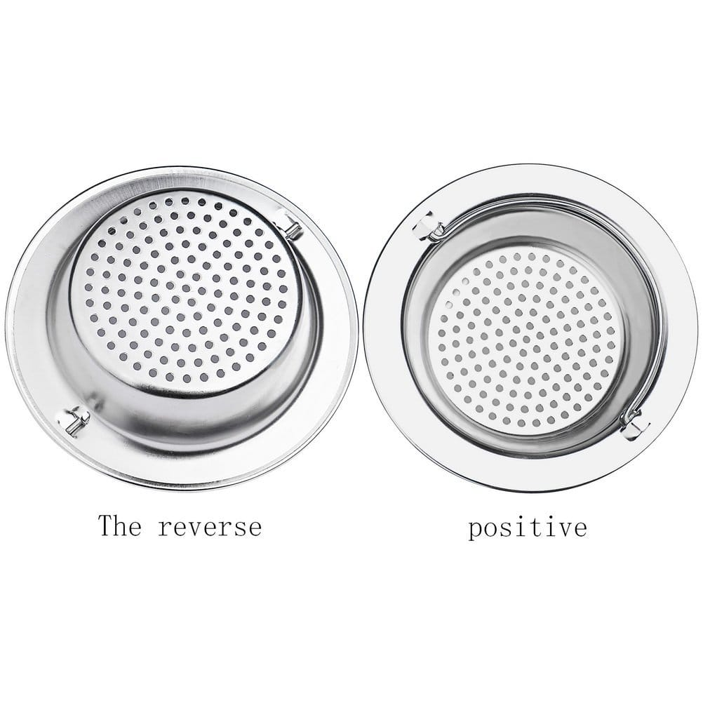 2 PCS Robot Bee 4.5 Inch Diameter Stainless Steel Kitchen Sink Strainer for $4.99 @ Amazon