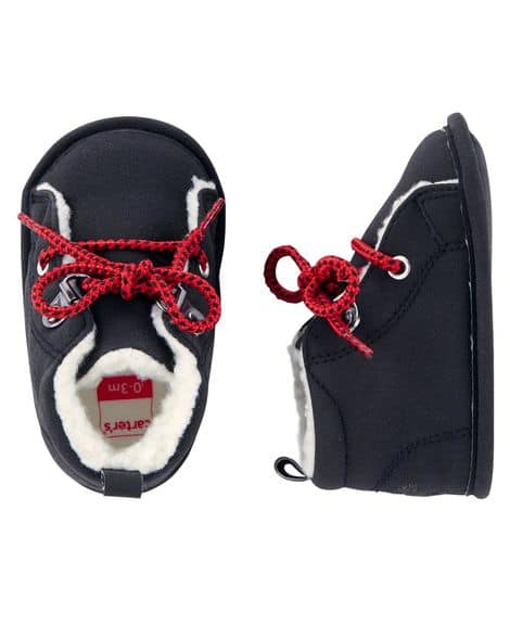 Carter's Bear Boots Crib Shoes $22.00