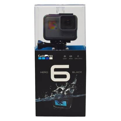 GoPro HERO6 4K Black Video Action Camera CHDHX-601 $369.99+fs@rakuten