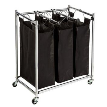 Honey-Can-Do Easy Load Triple Laundry Sorter $12.98