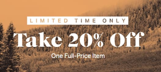 Yeti Promo Code >> 20 Off 1 Full Price Item Works On Patagonia North Face