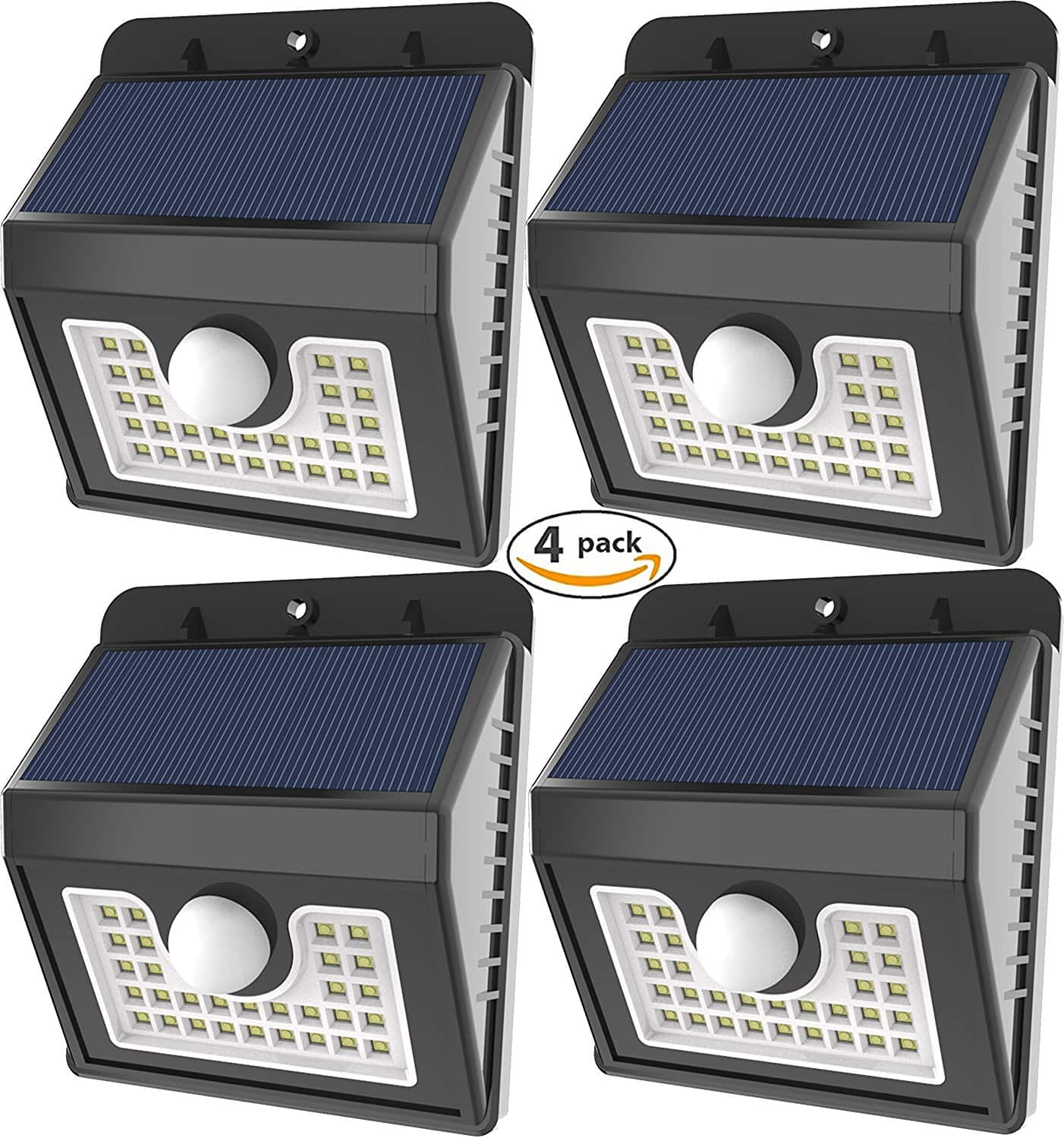 4-Pack Vivii 30 led Outdoor Security Solar lights for $26.99 @Amazon