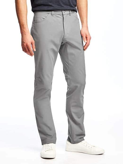 Go-Dry Performance Stretch Pants for Men- 15.71 to 22$