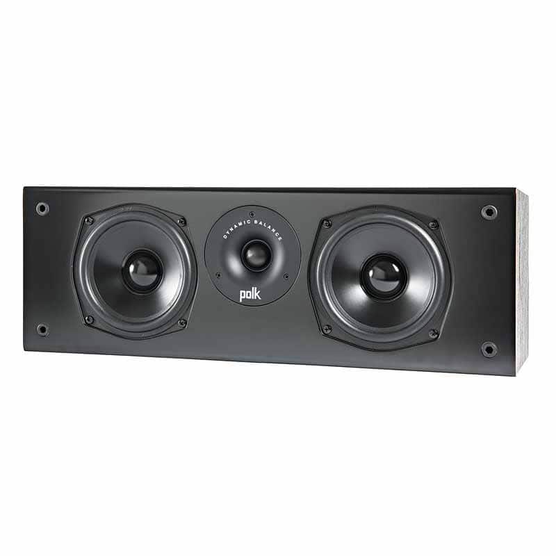 Polk Audio T30 Home Theater and Music Center-Channel Speaker - Black $69