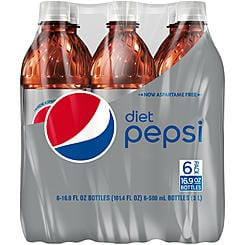 Pepsi & Mountain Dew 6 Pack Bottles $2 @ Kmart.com - Store Pickup only