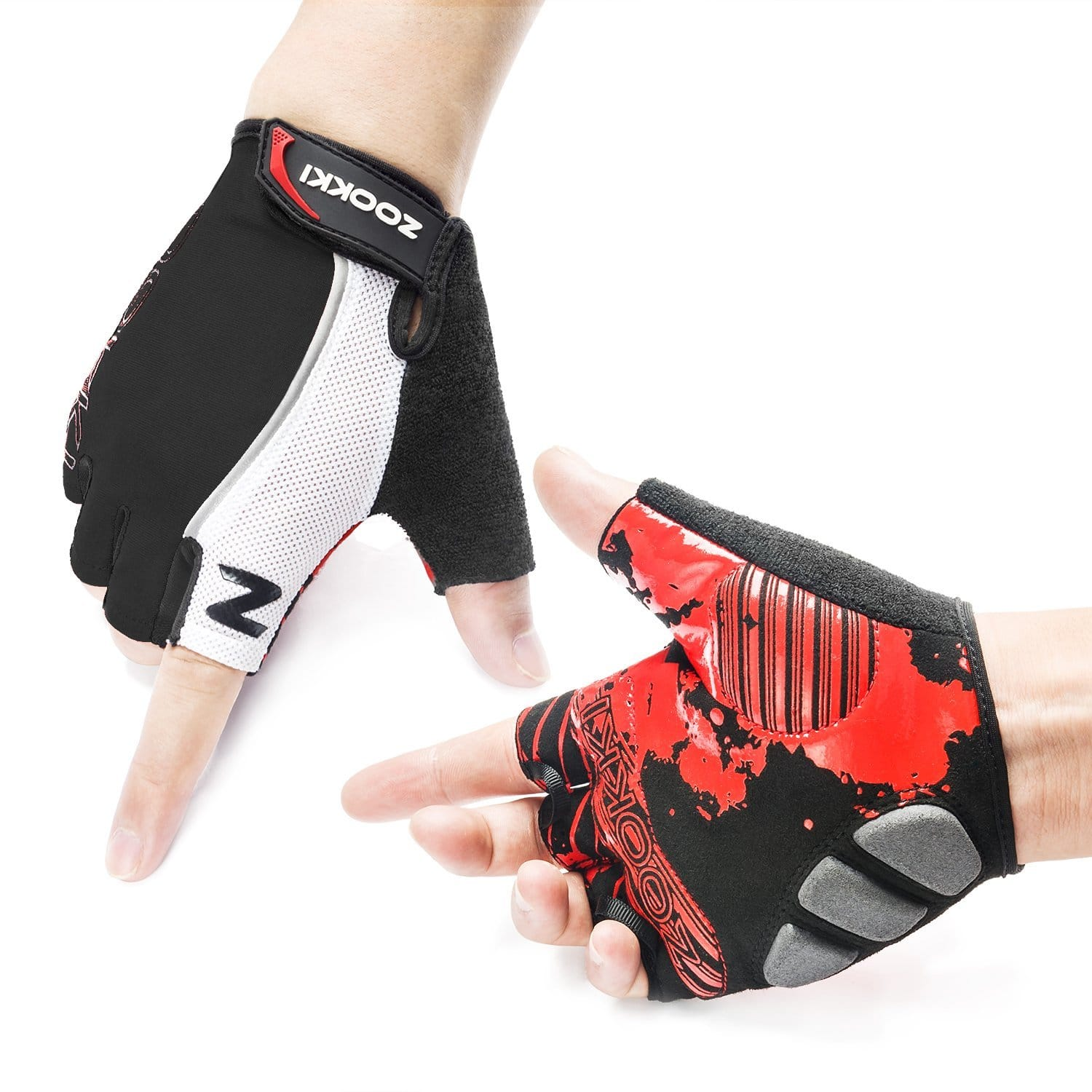 Cycling Mountain Bike Half Finger Biking Gloves (Various Colors) for $5.99 @ Amazon