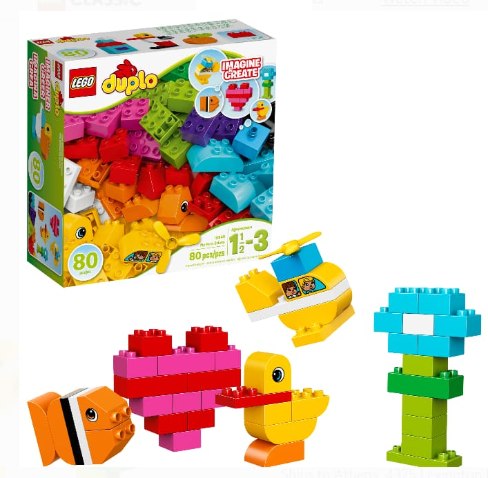 LEGO DUPLO My First Bricks 10848 Building Set (80 Pieces) $12.99