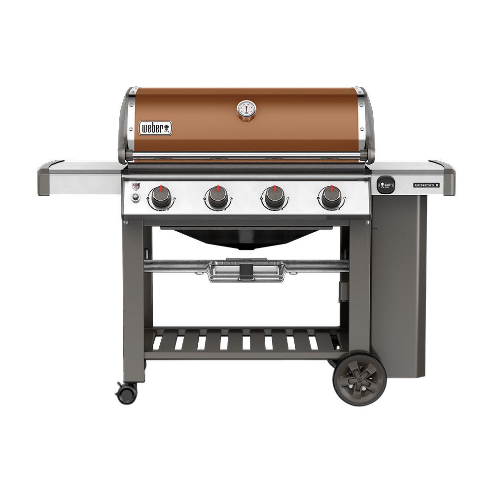 Weber Genesis II E-410 4-Burner Propane Gas Grill in Copper $699 B&M - YMMV