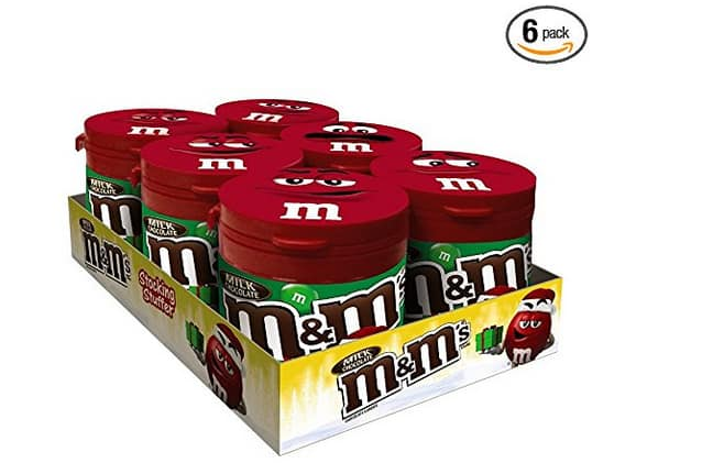 Add-on Item  $5.93 M&M'S Milk Chocolate Holiday Candy To-Go Bottles 3.5-Ounce Bottle Pack of 6