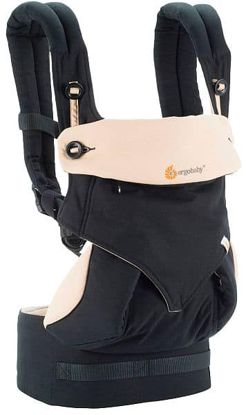 Ergobaby 360 Baby Carrier black/tan - $152 incl. $50 GC w/RED card