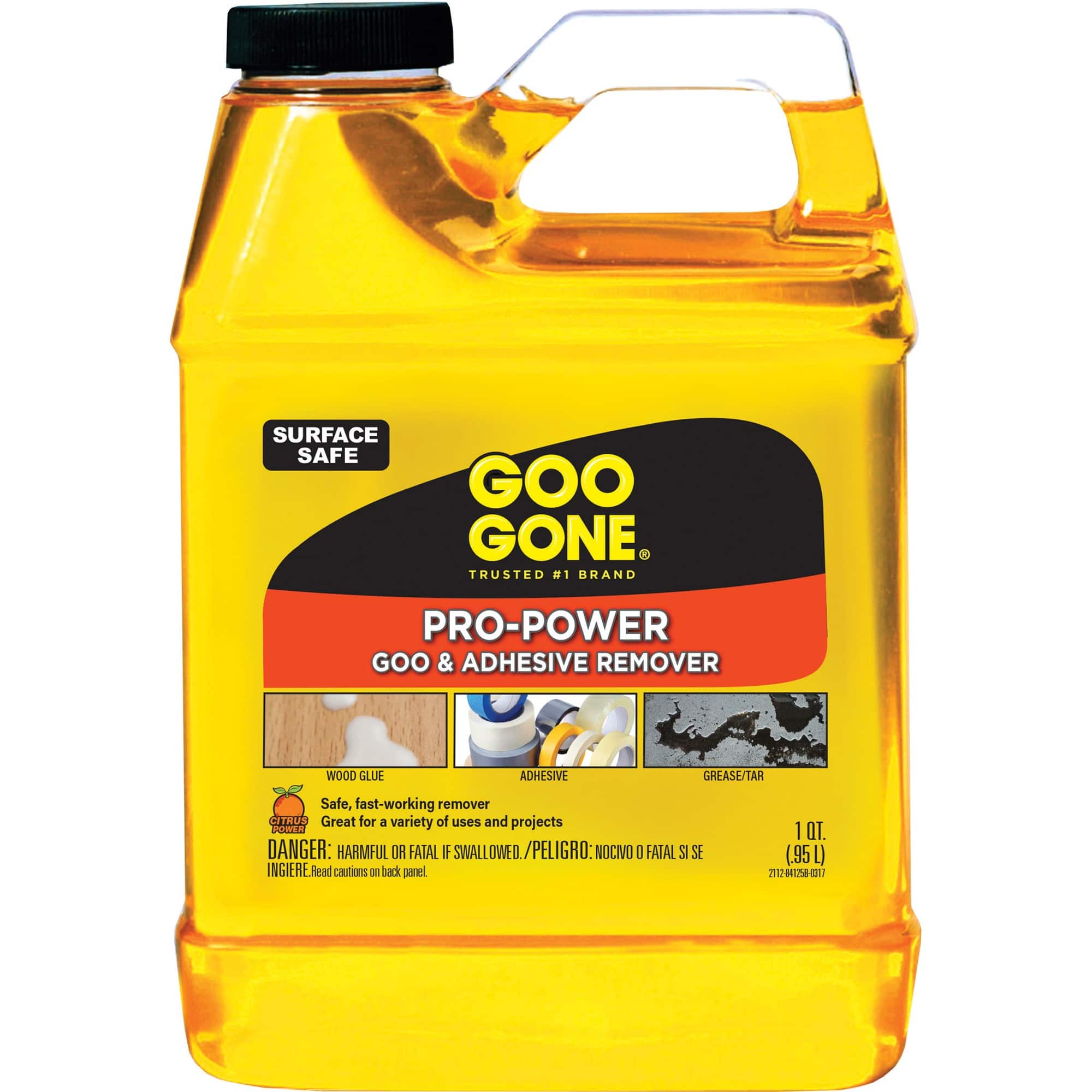 Goo Gone Pro-Power - Professional Strength Adhesive Remover - 32 Fl. Oz. Jug $6.97