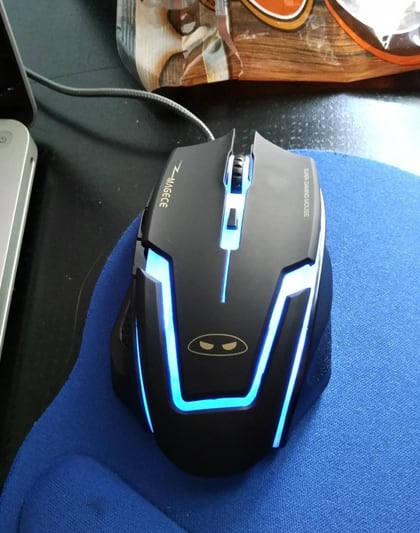 G1 Ergonomic 3200DPI 6 Buttons USB Wired with 4 Color LED Gaming Mouse Mice for PC Mac Gamer(7.99$+Free Shipping) $7.99